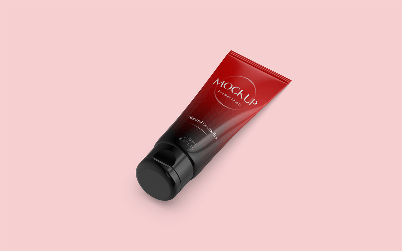 Trending 2020 Cosmetic Tube Mockup | UI UX design company in India | Berenike & Bion