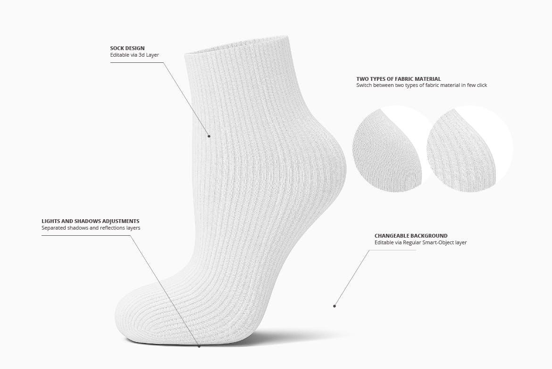 Socks 3d Mockup design | UI UX design company in Hyderabad/India | Berenike & Bion Technologies
