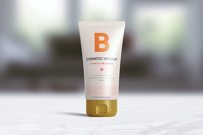 Cream pack cosmetic Tube Mockup design | UI UX design company in Hyderabad/India | Berenike & Bion Technologies