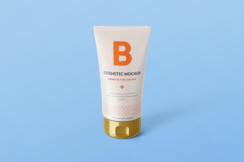 cream package cosmetic Tube Mockup design | UI UX design company in Hyderabad/India | Berenike & Bion Technologies
